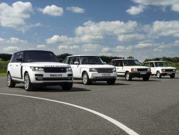 Tái hiện 4 thế hệ Land Rover Range Rover qua ảnh