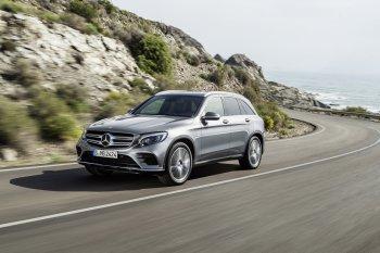 Mercedes-Benz GLC hoàn toàn mới chính thức chào thế giới