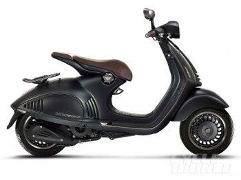 Vespa 946 Emporio Armani –bản kỉ niệm đặc biệt của hai biểu tượng Ý