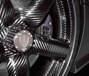Volkswagen bắt đầu thử nghiệm bánh xe carbon