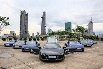 Thoải mái lái thử 8 siêu xe Audi R8 tại Phú Quốc