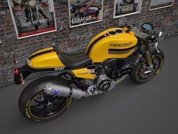 Thỏa sức sáng tạo với Café racer vẽ 3D