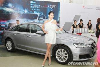 Cận cảnh Audi A6 mới vừa ra mắt thị trường Việt