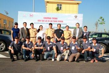 Toyota mang chương trình lái xe an toàn tới Hà Nam