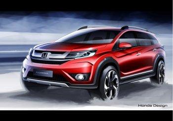 """Honda """"tham chiếm"""" crossover bằng nguyên mẫu BR-V hoàn toàn mới"""