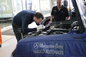 Chuyên gia Đức đến Hà Nội chăm xe Mercedes-Benz miễn phí