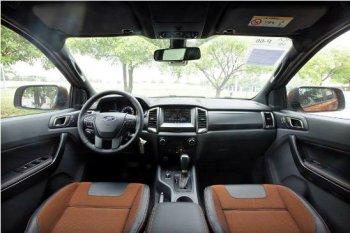 Xuất hiện ảnh nội thất Ford Ranger Wildtrack facelift 2015 3.2L taị Việt Nam