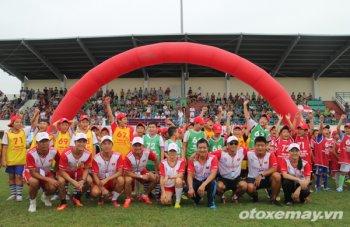 Vòng sơ tuyển đầu tiên đầy sôi động của Trại hè bóng đá thiếu niên 2015
