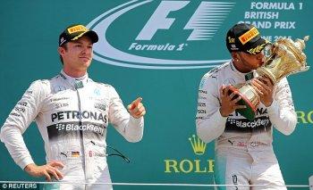 F1 2015: Chiến thắng 1-2 đầy nghẹt thở của Mercedes