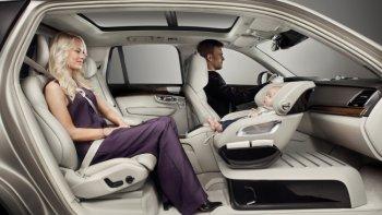"""Volvo phát triển ghế trẻ em """"hạng sang"""""""