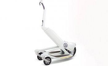 Volkswagen phát triển xe scooter 3 bánh chạy điện