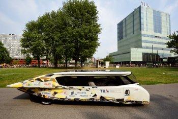 """Xuất hiện """"xe mặt trời"""" không tốn một xu nhiên liệu"""