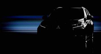 Hình ảnh đầu tiên của chiếc Mitsubishi Pajero Sport mới