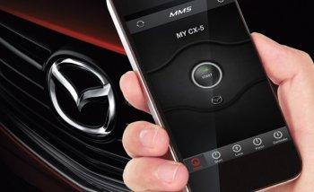 Xe Mazda có thể điều khiển từ xa bằng smartphone