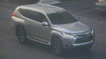 Mitsubishi Pajero Sport 2016 xuống phố