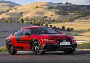 Xe tự lái Audi đua nhanh hơn có người điều khiển