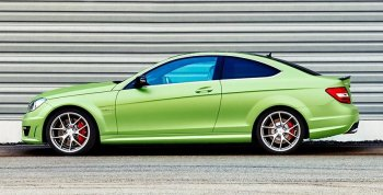 Mercedes-Benz tạm biệt C-Class Coupe thế hệ cũ bằng phiên bản đặc biệt