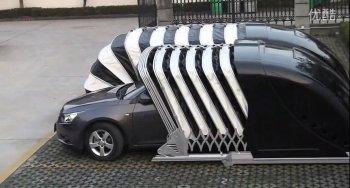 Garage siêu tiện dụng cho nhà chật