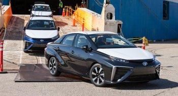 Toyota Mirai đã tới Mỹ