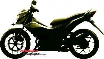 Phác thảo Honda Sonic 150R trước ngày ra mắt