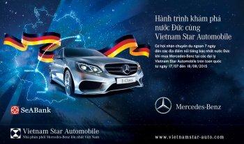 Mua xe Mercedes để có cơ hội tham quan nước Đức