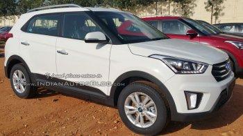 """Hyundai Creta bị """"lột sạch"""" trước ngày ra mắt"""