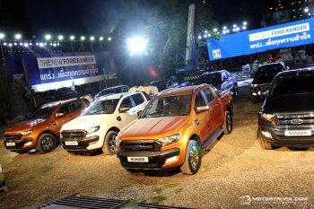 19 phiên bản của chiếc Ford Ranger 2015 tại Thái Lan