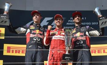 F1 2015 chặng 10: Vettel thắng dễ, Ricciardo làm khó Mercedes-AMG