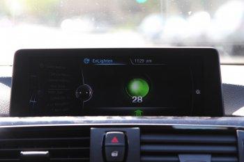 Xe BMW có cảnh báo đèn đỏ