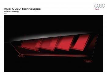 Audi hé lộ công nghệ chiếu sáng OLED trên một mẫu xe 'bí ẩn'