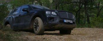Những pha vượt địa hình đầu tiên của SUV Bentley Bentayga