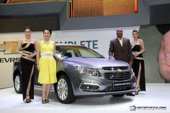 Chevrolet Cruze 2015 tại Thái Lan có giá từ 26.893 USD
