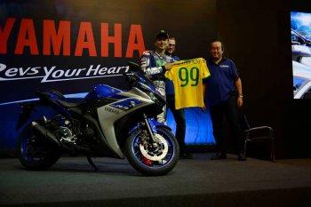 Jorge Lorenzo giới thiệu Yamaha YZF-R3 tại Brazil