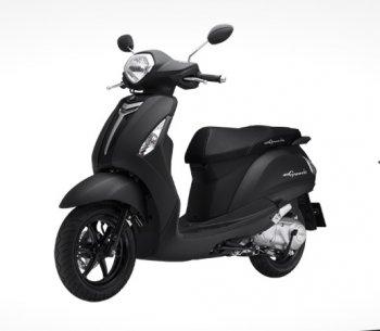 Yamaha Nozza và Grande ra màu đen nhám nam tính