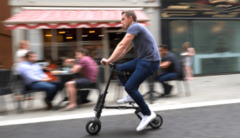 A-Bike: Xe đạp điện nhỏ gọn nhất thế giới