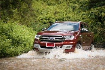 Trải nghiệm thực tế Ford Everest 2015