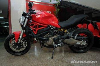 Cái mới của Ducati Monster 821 ở Việt Nam