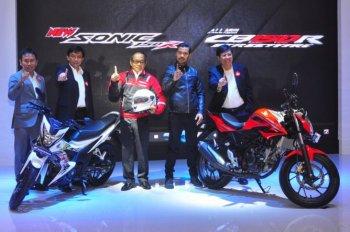 Honda Sonic 150R và All New CB150R đồng loạt trình làng