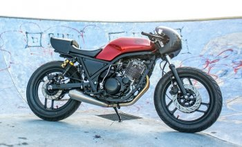 SRX 600 Café racer của dân chơi Ý