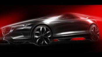 Phác thảo concept Mazda Koeru trước ngày ra mắt