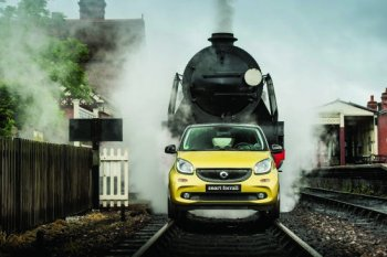 Forfour biến thành tàu hỏa Smart