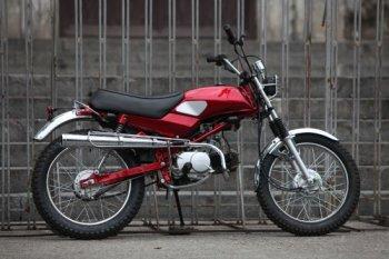 Cận cảnh Honda Win hóa thân scrambler ở Hà Nội