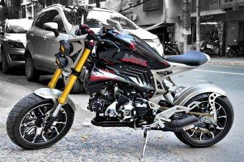 """Honda MSX 125 độ """"hàng độc"""" tại Sài Gòn"""