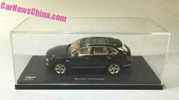 Dự đoán SUV Bentley Bentayga qua mẫu xe mô hình