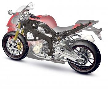 BMW Motorrad 'nhanh chân' phát triển khung sườn sợi Carbon