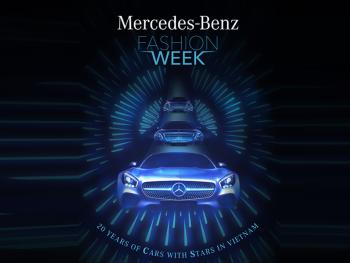Tuần lễ thời trang Mercedes đầu tiên tại Việt Nam sắp diễn ra