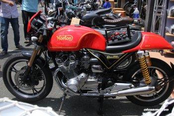 Norton Commando 952 phiên bản Việt tại Vietnam Motorbike Festival Sài Gòn
