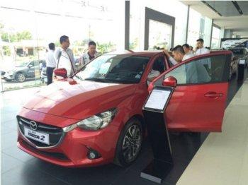 Mazda2 sedan còn 602 triệu đồng trong tháng Ngâu