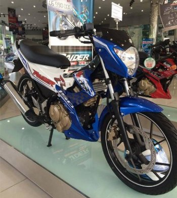 Suzuki Raider quyết đáp trả Yamaha Exciter