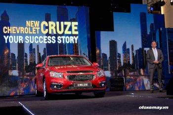 GM Việt Nam đồng loạt tung 2 bản Chevrolet Cruze